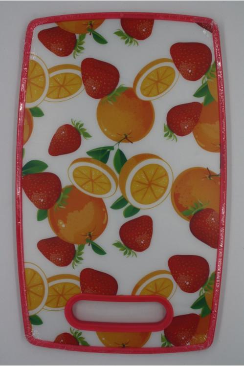 Доска №ROZ-128 кухонная пластм. (37*23) см  (36)