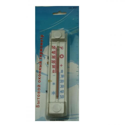 Термометр №СН-3001 пл оконный (2*3,5*17,6)см на листе (144)