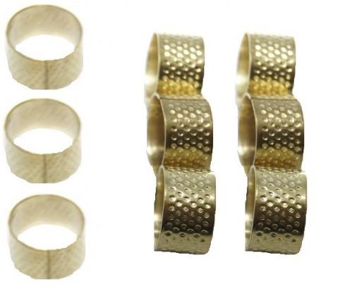 Кольцо-подставка №118 д/иголок метал. зол. (1*1,8)см (5000)