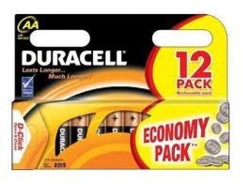 Батарейка LR06 Duracell 12шт бл. (144/12)