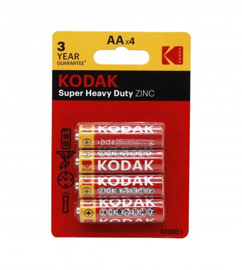 Батарейка R06 Kodak блистер 4шт (400/80)