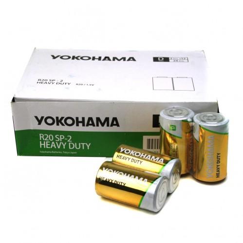 Батарейка R20 Yokohama кор.2 (288)
