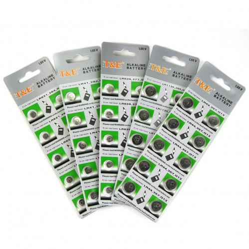Батарейка Таблетка AG3 (TMI) на листе 10шт в пач. 20листов (1000л/20л)