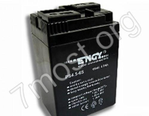 Аккумулятор Engy 6V-4Ah б/ушек №640 (20)