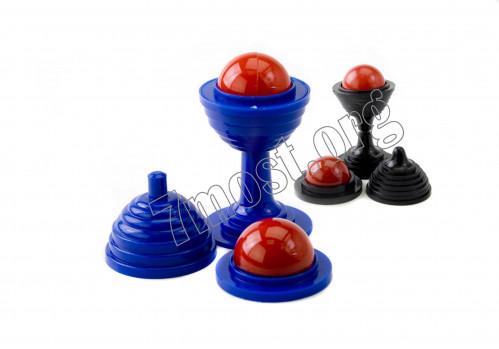 Волшебный мячик №ВМ-5 пл. микро (6,8*3,2)см (1000)