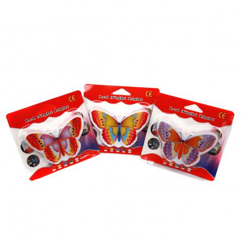 Ночник №Н100-5 пл. бабочка (240)