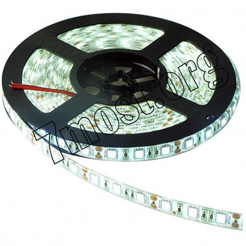 Ламп. лента водонепрониц. №LL-2 12V цвет диам 35*28 60ламп в 1м в катуш 5м (200)