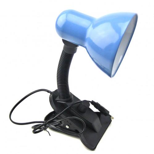 Лампа №108А с прищепкой и регулятором металопл. 6цв D-11см/L-27см в кл. мал. керам. (60)