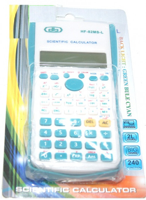 Калькулятор №82MS 10цифр с свет. 2R6 (120)