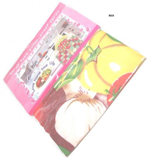Фартук №8023 нейлон кух (60*70)см 4цв с бумагой в кл (300)