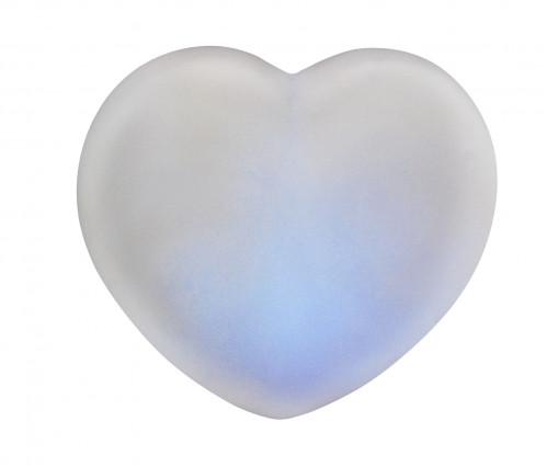 Ночник №Н-7,5 пл белый цв форма сердце (7*7,5)см в кор (300)