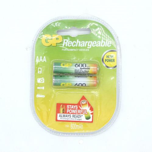 Аккумулятор AAA GP600 Eco Power (200/20)