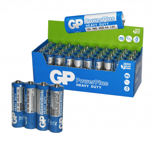 Батарейка R06 GP синяя кор. (1000/40)