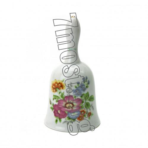 Колокольчик №К-11 сувенир. керам. высота 11см (100)