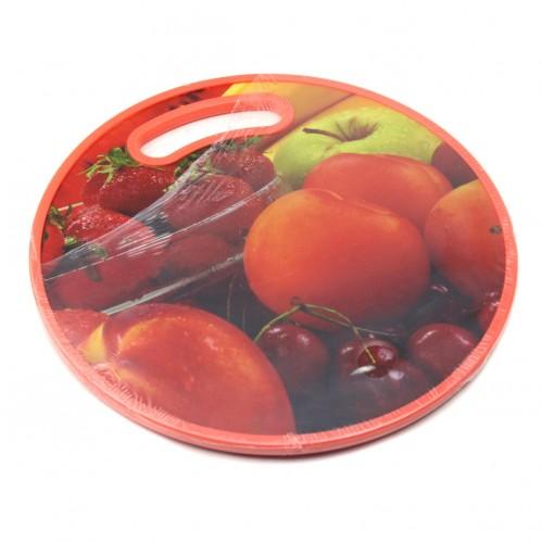 Доска №SY30 для кухни пл. круглая (30*30*1,15)см (36)