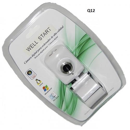 Камера №Q12 д/комп. с микроф. бел. цв на листе (100)