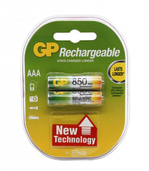 Аккумулятор AAA GP850 Eco Power (200/20)