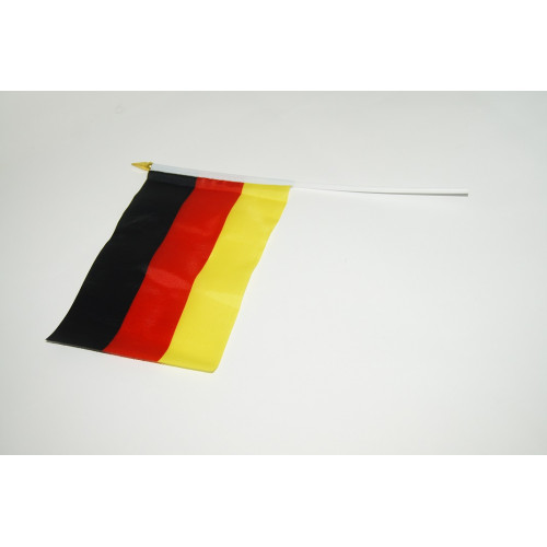 Флаг №023 ткан. лавсан (14*21)см в ср. пач. 20шт с палоч. и липуч. немецкий (2400)