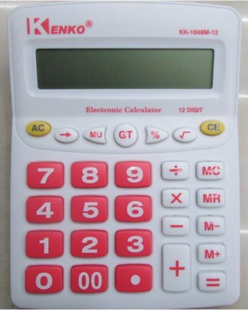 Калькулятор №KK-1048 Kenko 12цифр 4цв 2R3 (80)