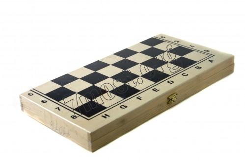 Шахматные фигуры №7101 дер. (14*29)см 3в1 (48)