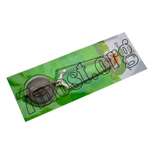 Сито-щипцы №QB2301 (№AD-3544) для чая метал. скл. на листе (4*5,5*15,5)см (300)
