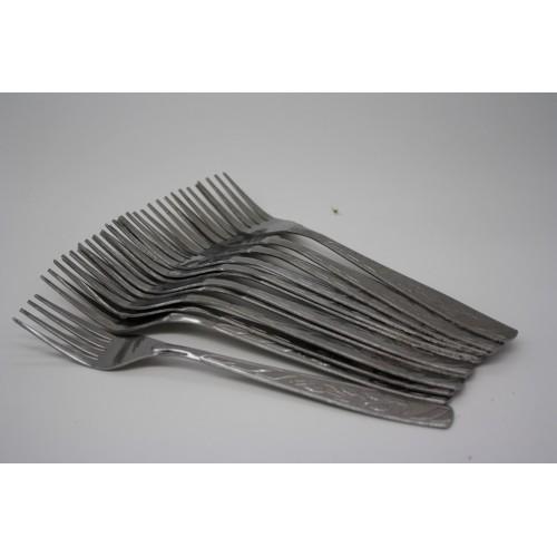 Вилка №0503-2 мет. стол. 12шт в кл. (600)