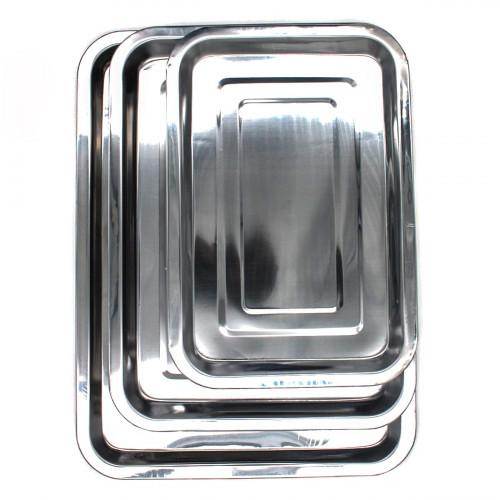 Разнос №32 метал. прямоуг. (32*22*2)см (90)