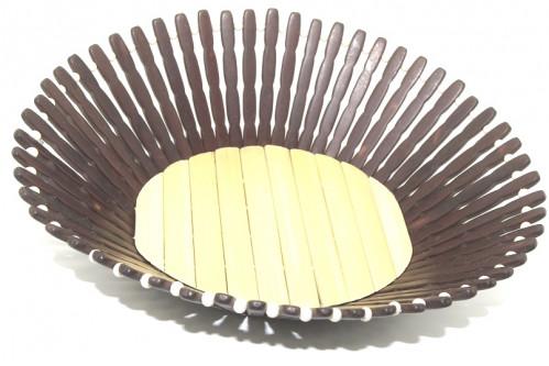 Хлебница №Д62 бамб. овал. (9,6*26,2*30,3)см 3цв (120)