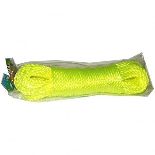 Верёвка хоз. №РЕ-5-20 (№4-5-20Y) РЕ 4цв 5мм*20яр в кл. (300)