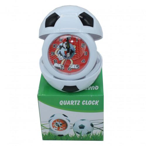 Будильник №БС-2 (Б-С-2) шар. футб. +баскет. пл. (8,5*10)см 1R6 в кор. (100)