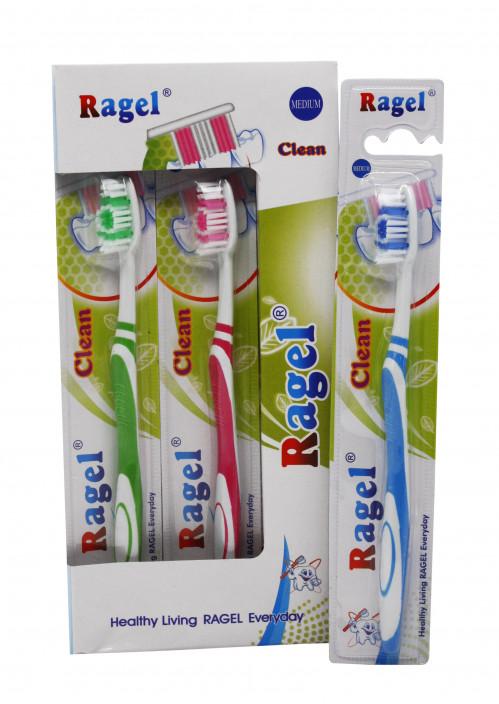 Зубная щётка №603 (№Е603) взрос. 4цв 12шт в кор. (576)