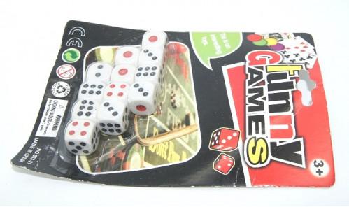 Игрушка чётки кубики №363-21 пл. 12шт на листе (1,5*1,5*1,5)см (480)