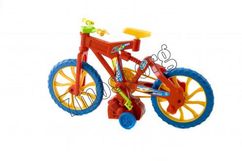 Игрушка велосипед №Н16 пл. 2цв механ. в кл. (5,7*14,7*16)см (144)