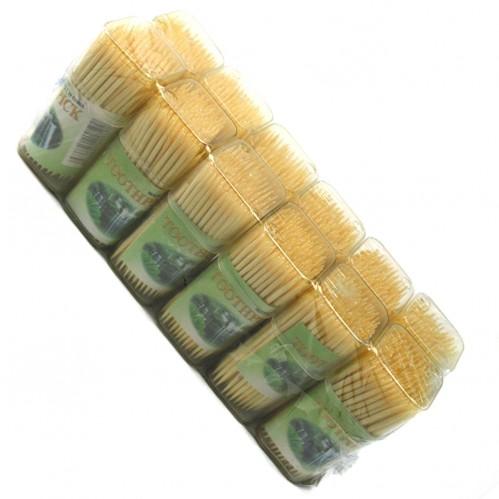 Зубочистки бамб. №зк-1-150 с 2стор. 150шт в банке пл. пр. (300)