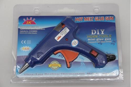 Пистолет №SD-E металопл. с выкл. д/сух. клея мал. от роз. на листе в кл. (96)
