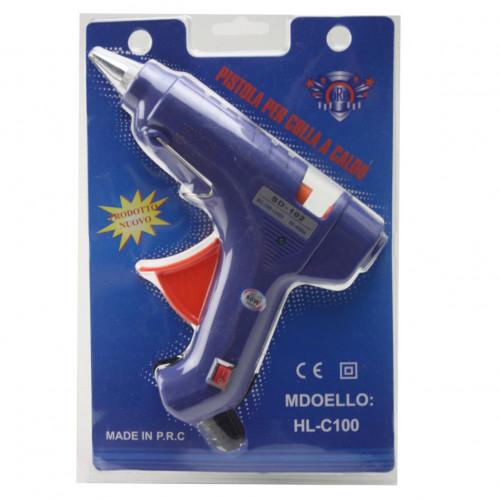 Пистолет №SD-102 металопл. с выкл. д/сух. клея бол. от роз. на листе в кл. (48)