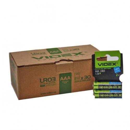 Батарейка LR03 Videx (720/60)
