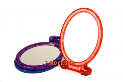 Зеркало №120 пл. овал. прост. 3цв бол. (120)