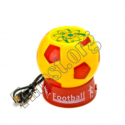 Лампа для проектора №НФ-4 пл. футбол на 3R6 или от USB шнур. в кор. (11,5*12,2)см (48)