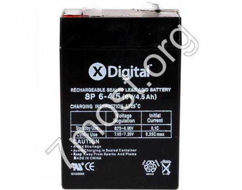 Аккумулятор X-Digital SP 6-4,5 (SW645) (20)