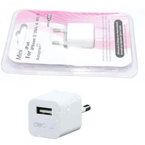 Зарядное устройство №3G д/моб. тел. на листе бел. цв. (300)