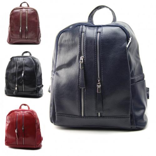 Рюкзак №080 жен./подр. Pu на спину и руч. 5зм. (35*29*21)см 4цв (48)
