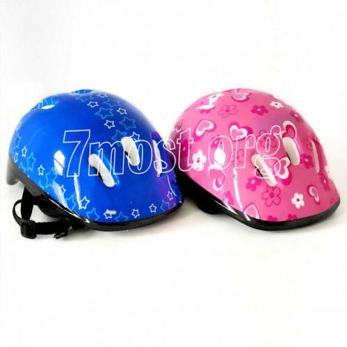 Шлем №BY-6010 пл. 3цв 6шт дыр. (60)