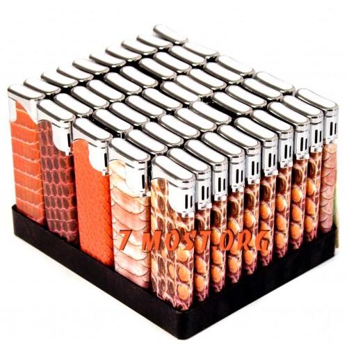 Зажигалка №BBD-258-1 слайд. змея (1000)