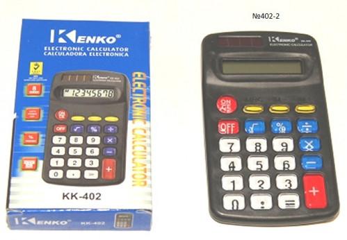 Калькулятор №КК402А с прозр. кноп. (400)