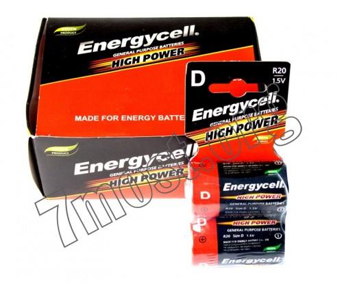 Батарейка R20 Energycell кор. (288/12)