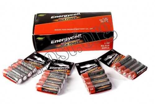 Батарейка R06 Energycell кор. (1200/40)