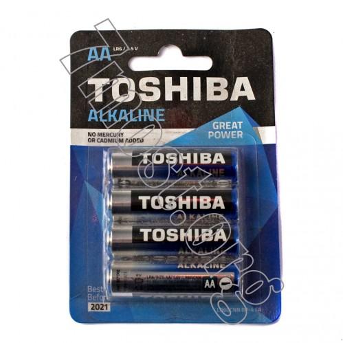 Батарейка LR06 Toshiba бл.4 (192/48)