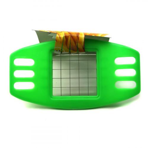 Овощерезка №YH-2006 металопл. для картошки 3цв на картонке (360)