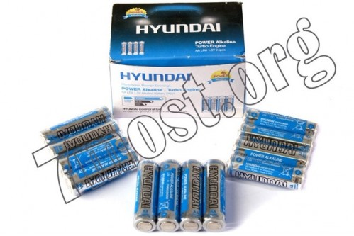 Батарейка LR03 Hyundai Turbo 4SW кор.4 (1200)